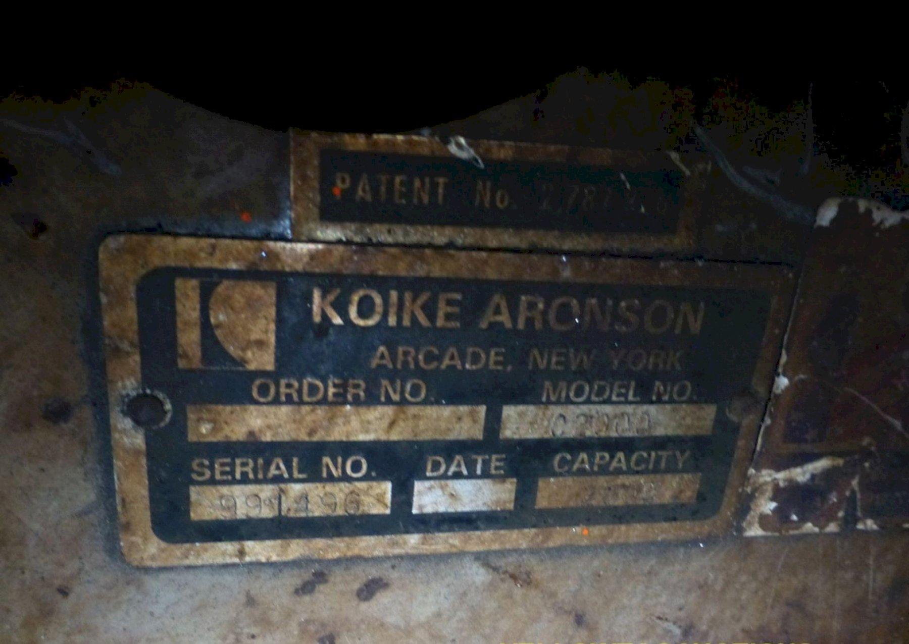KOIKE ARONSON MODEL #C2000 UNIVERSAL WELDING POSITIONER: STOCK #73303
