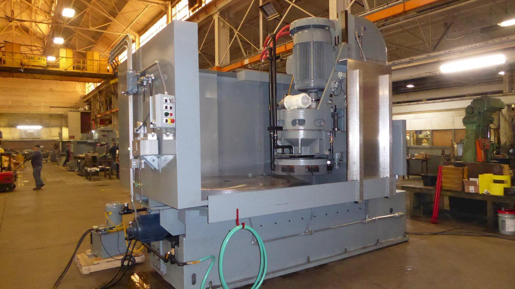 Blanchard #36HD-66, 66″ Re-manufactured Geared Head Vertical Spindle Rotary Surface Grinder W/ 1 Yr. Warranty