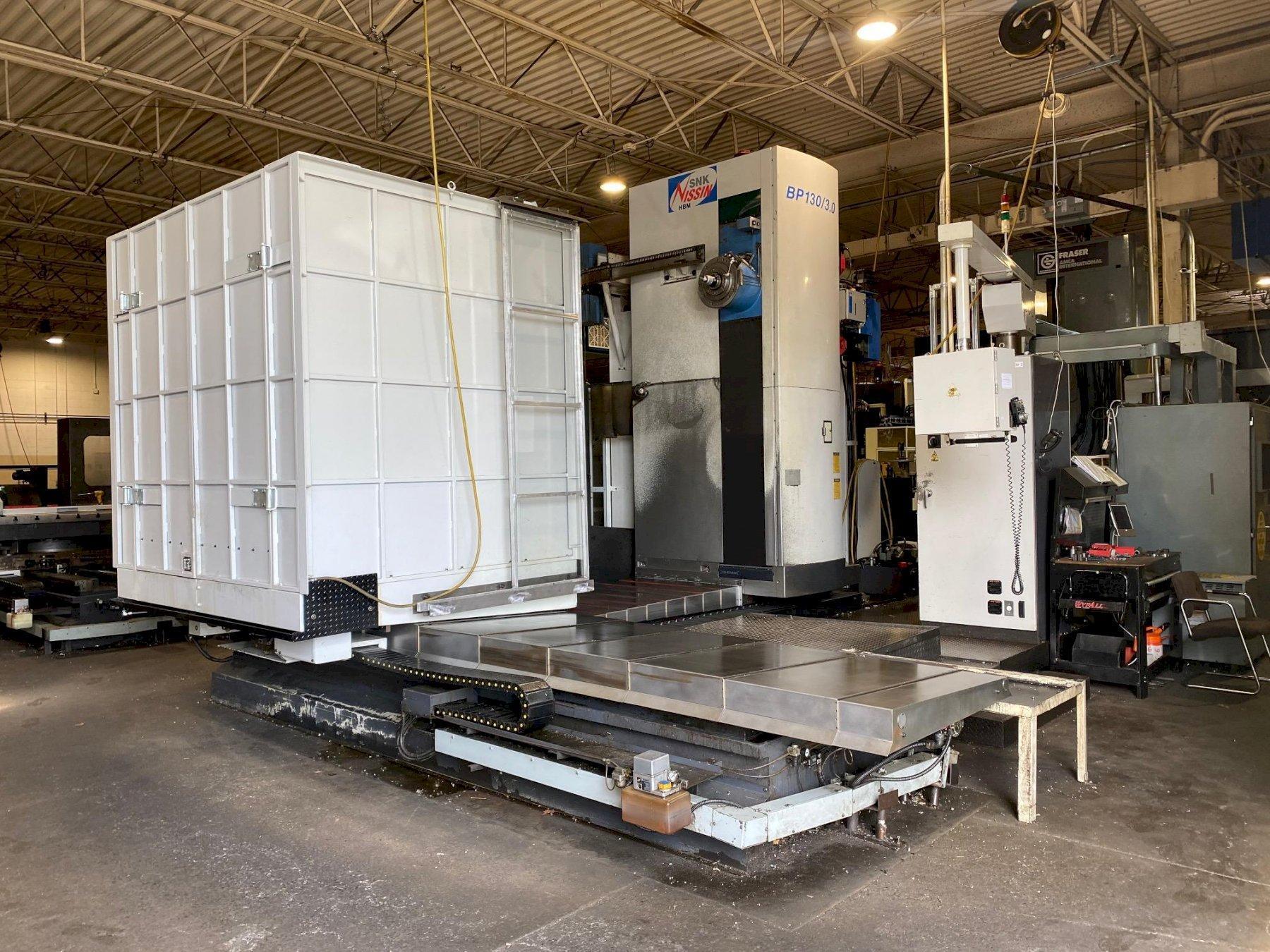 SNK NISSIN BP130/3.0 CNC Horizontal Boring Mill