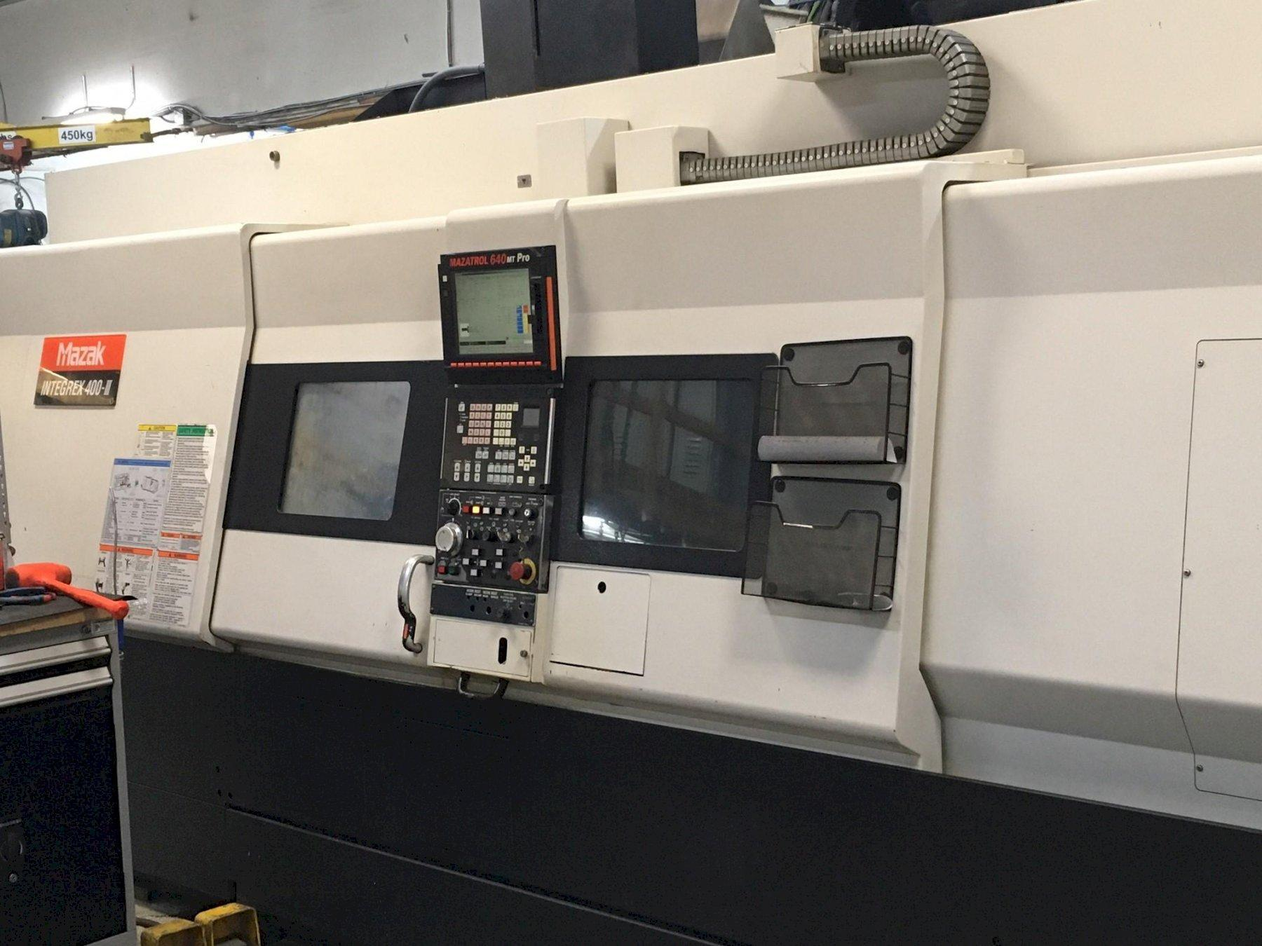 Mazak Integrex 400-III CNC Turn/Mill Center with Y Axis