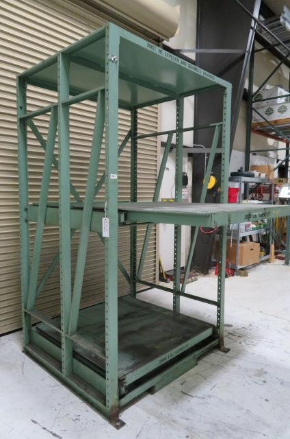 (3) Three Sets of Mold Storage Rack, Used, 2000 lb capacity,