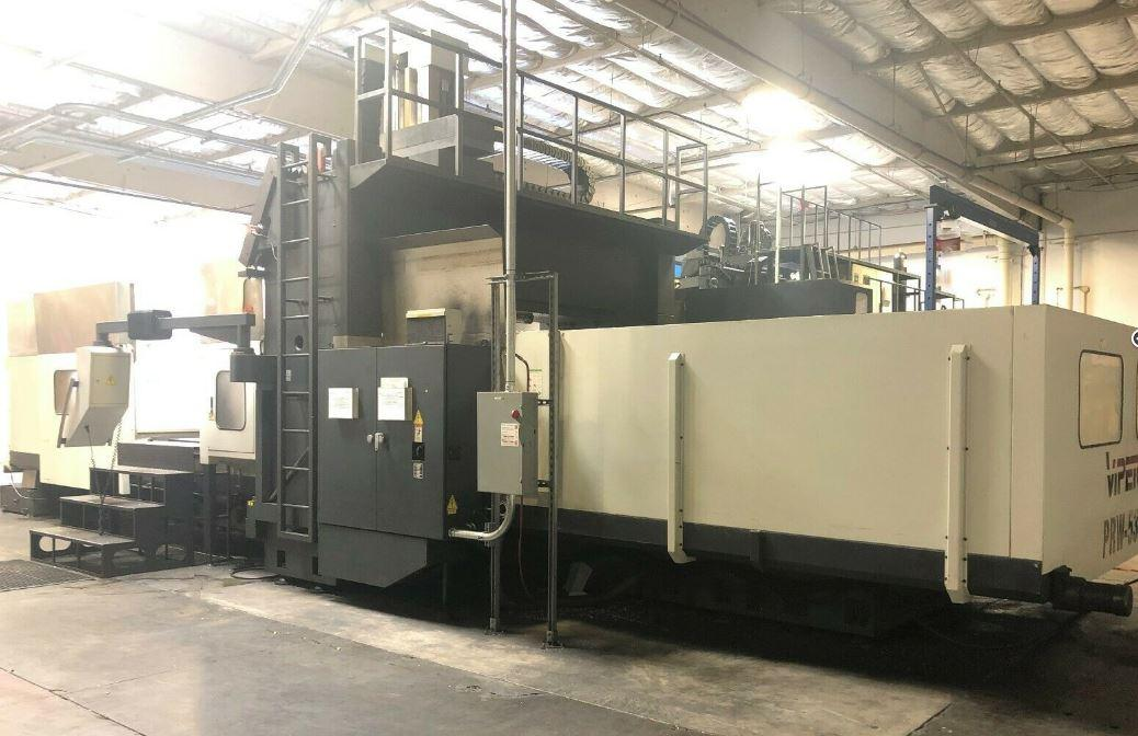 2008 Mighty Viper PRW-5340- Double Column CNC Bridgemill