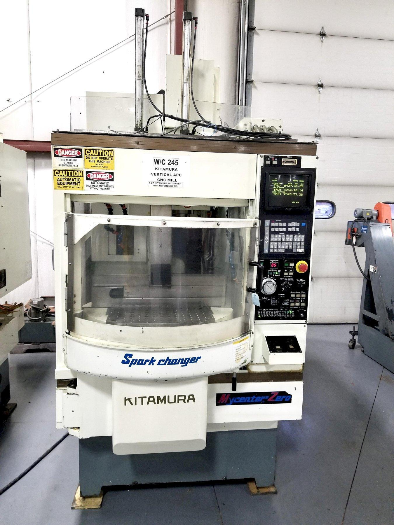One (1) Used Kitamura Vertical Machining Center
