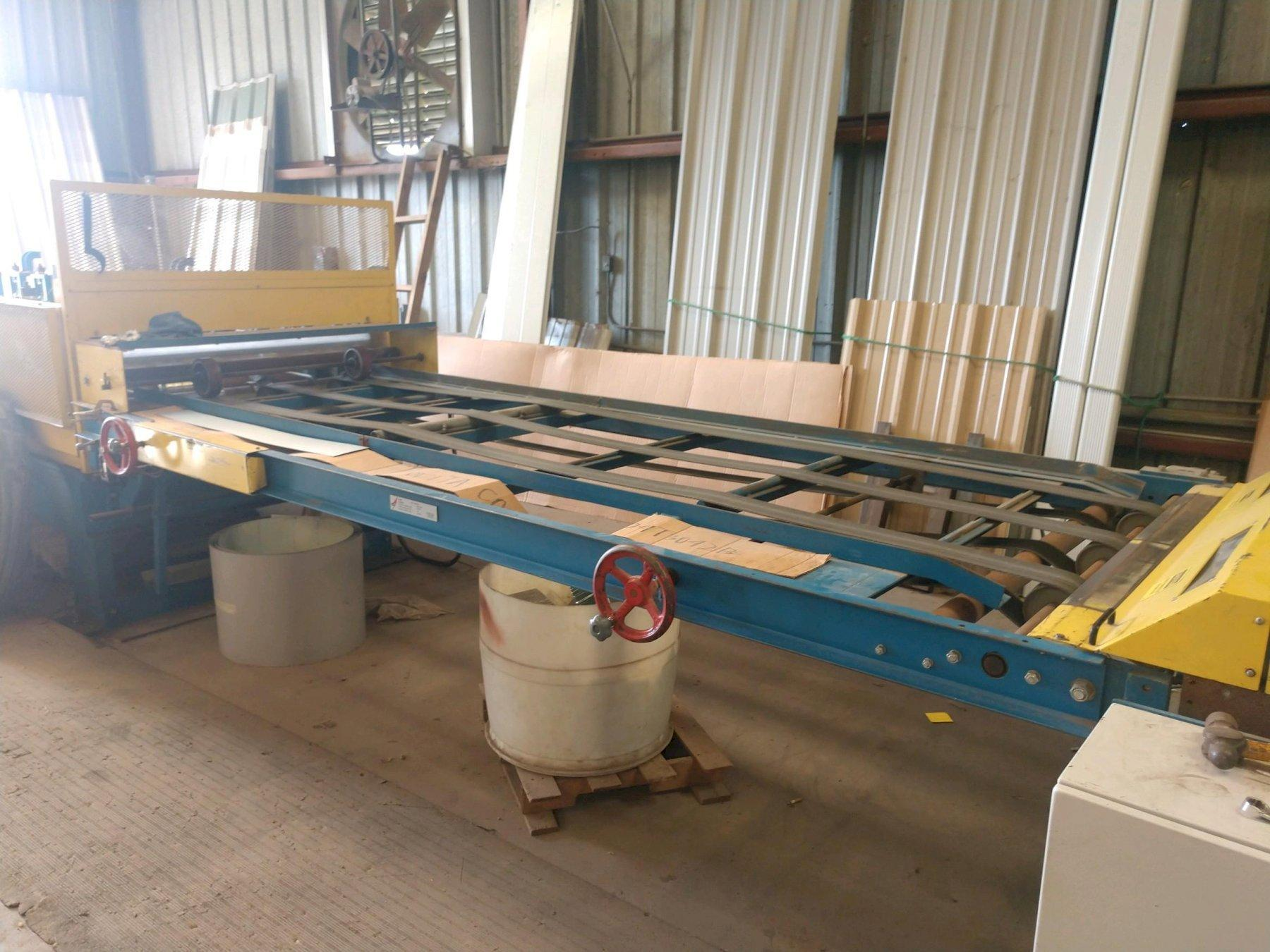 14 Stand ASC R Panel Rollforming Line New in 2010