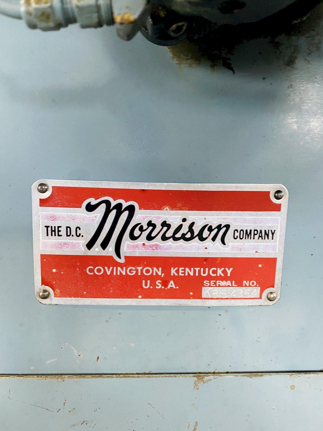 """1.25"""" X 9"""" MORRISON MODEL #K KEYSEATER. STOCK # 0506219"""