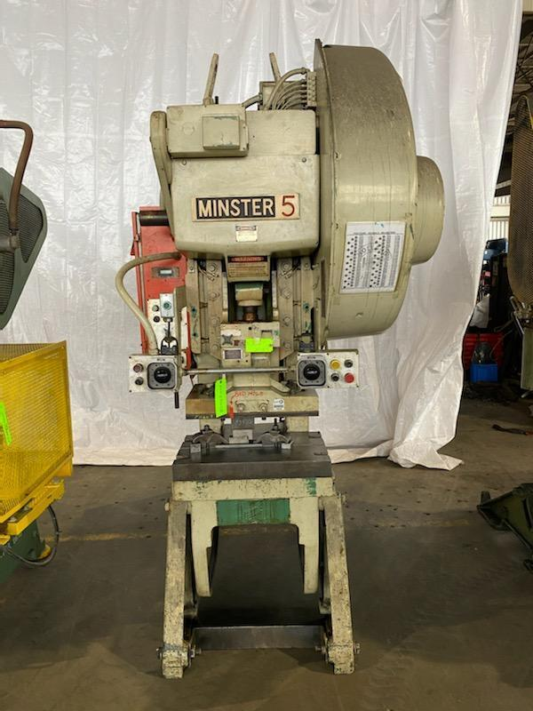 45 Ton Minster #5 OBI Fly Wheel Press