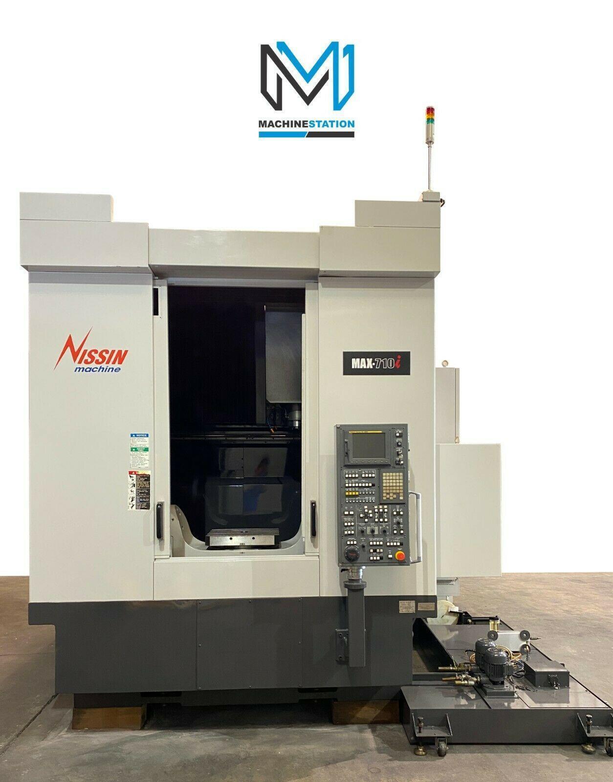 SNK NISSIN MAX-710i 5 AXIS CNC MILL