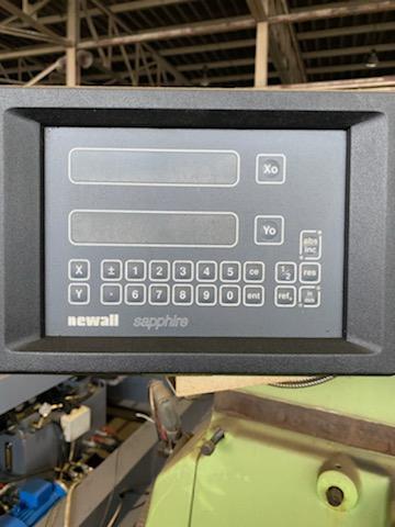 Kia Seiki 2MF-F Horizontal Mill