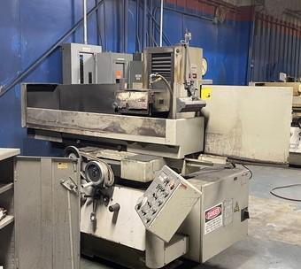 "8"" X 20"" OKAMOTO MODEL #ACC-8-20DX SURFACE GRINDER: STOCK #14526"