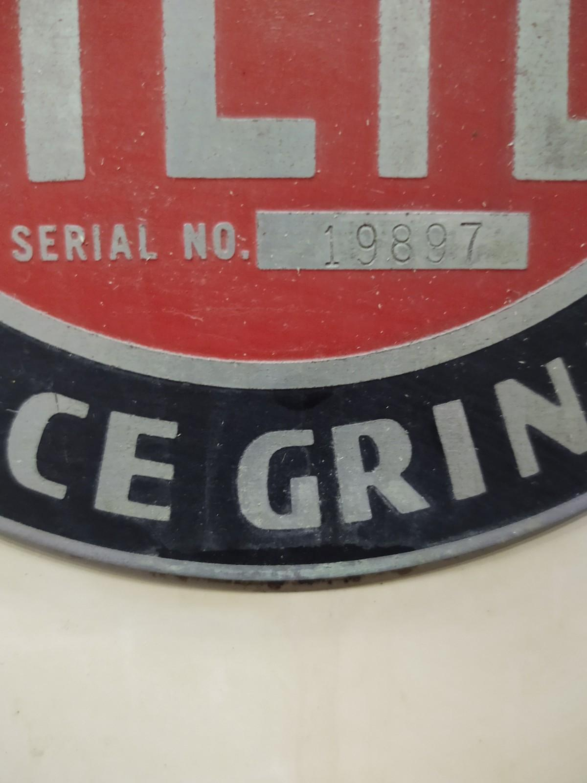 Reid Precision Hand Feed Surface Grinder Model 618 HR