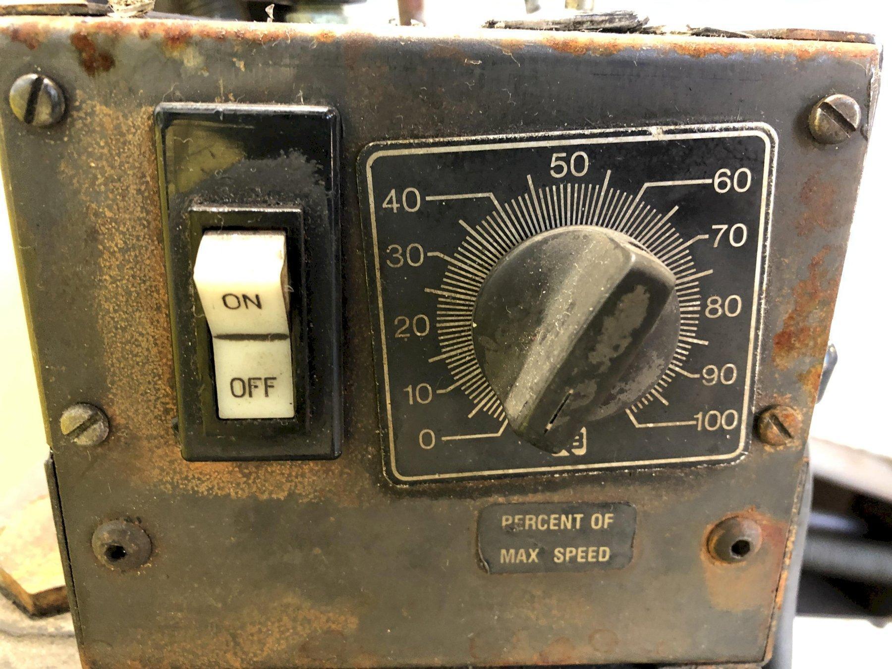 "250 LBS X 6"" RAPID AIR MODEL #R46AP COIL REEL UNCOILER: STOCK #15443"
