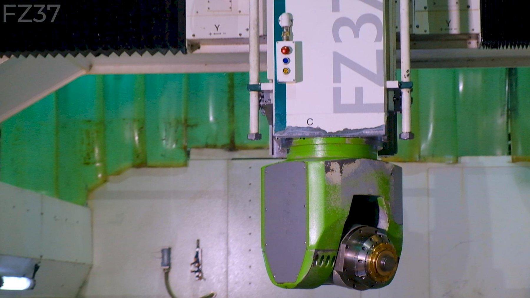 Zimmermann FZ37 5-axis CNC Bridge Mill