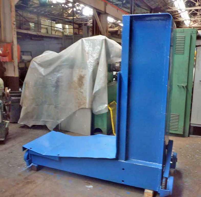 "10,000# x 48"" Revolvator Floor Type Coil Car"