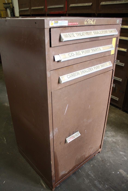 3 DRAWER 30' X 27-1/2' X 59' VIDMAR CABINET: STOCK #67061