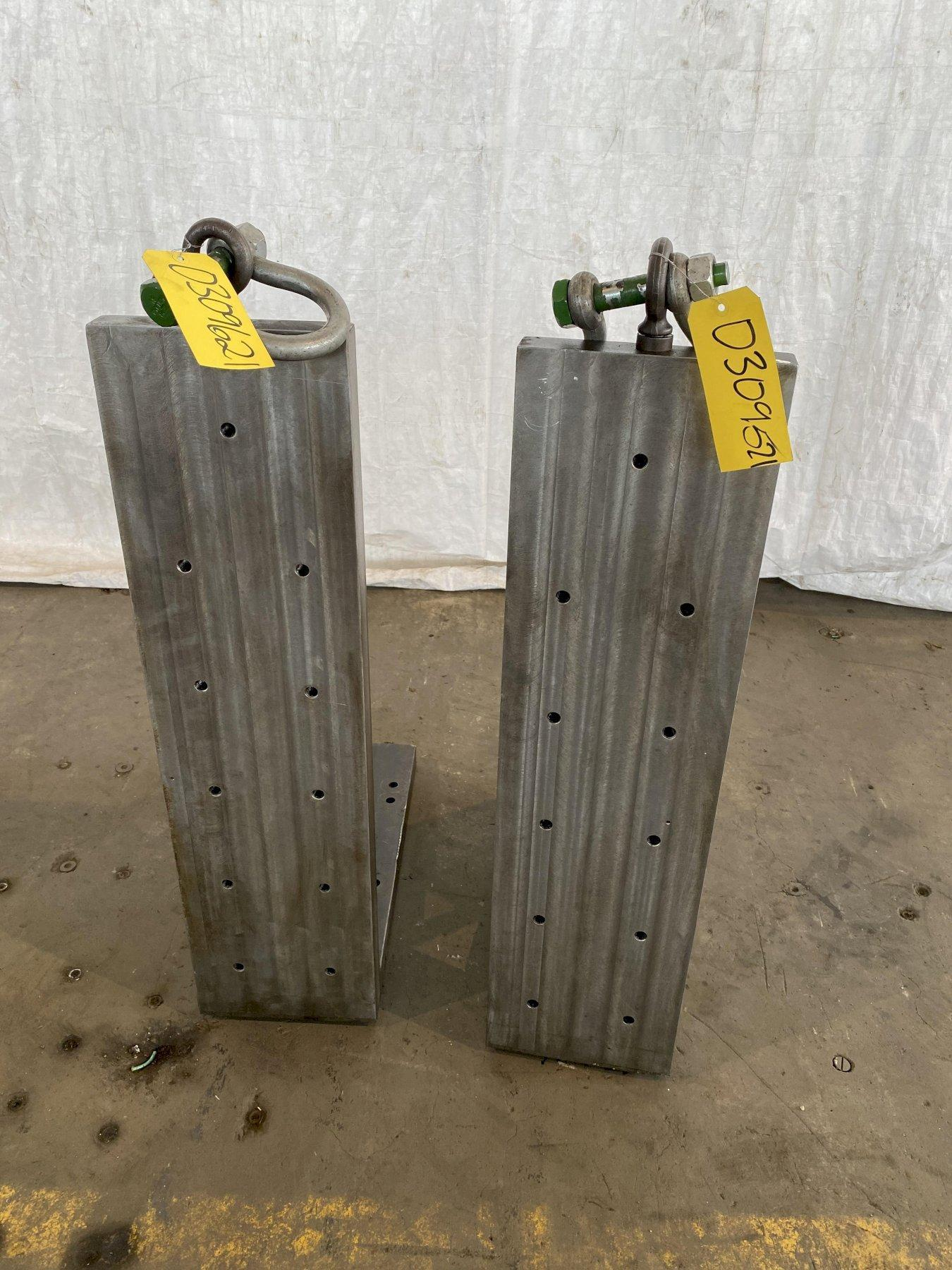 """38"""" T X 10"""" W X 24"""" D ANGLE PLATE. STOCK # 0309621"""
