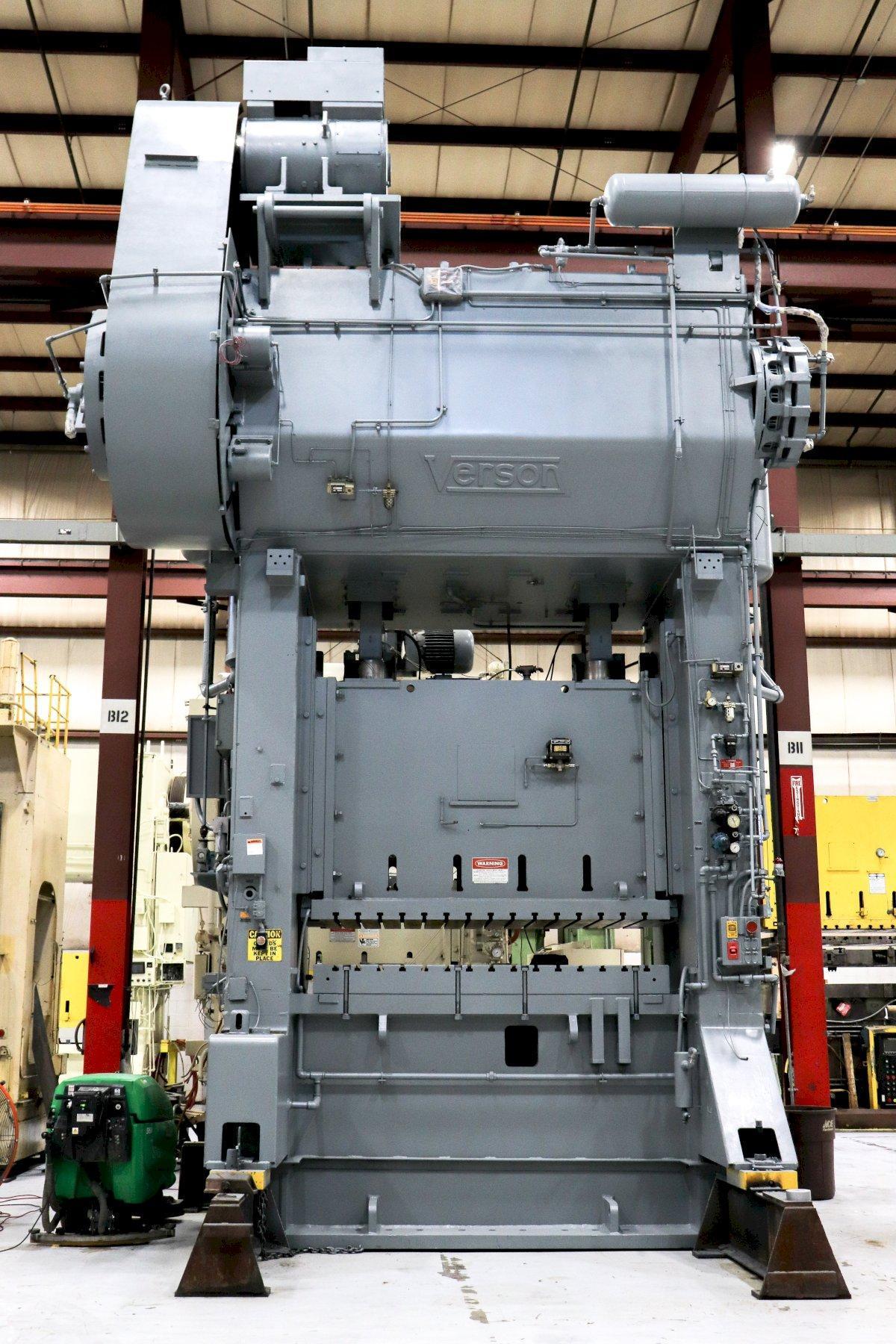800 Ton VERSON SE2-800-96-48t Straight Side Press