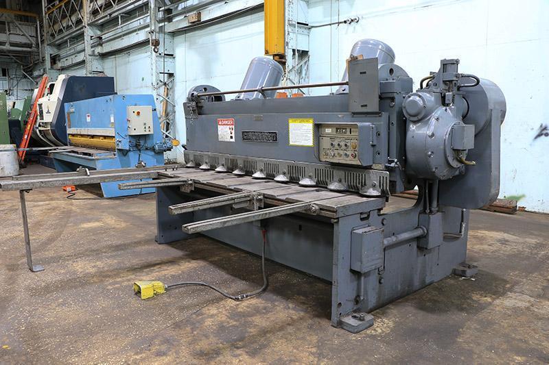 1/4 x 8 ft Cincinnati Mechanical Power Shear Model 1808