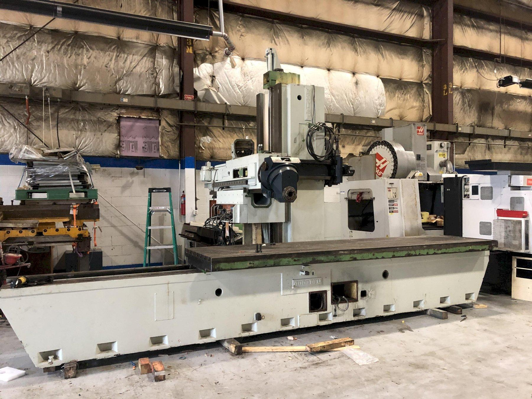 Zayer BFU 4000 Horizontal Boring Mill