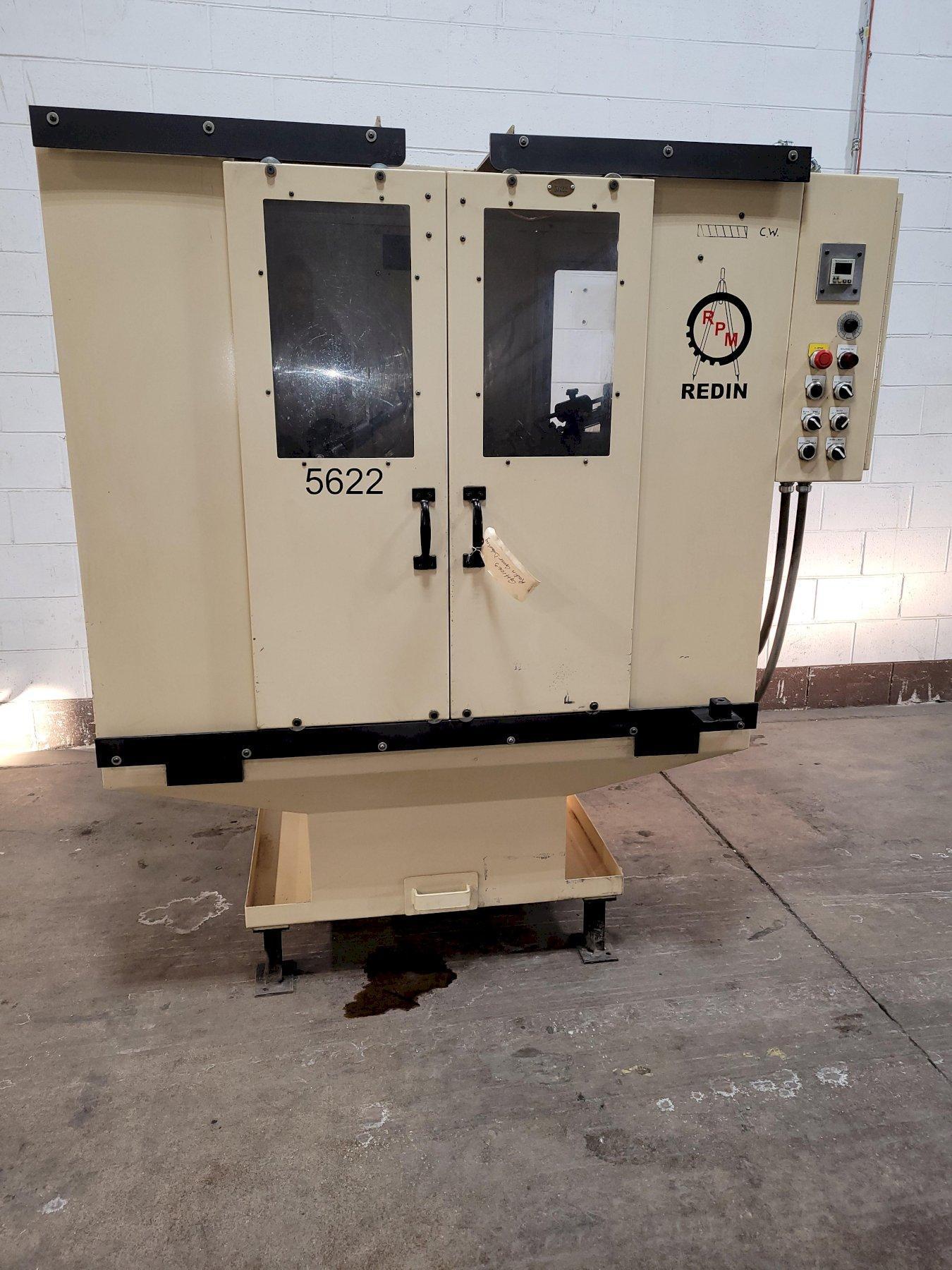 Redin Model 18GP Universal Burr-Matic Gear Deburring Machine