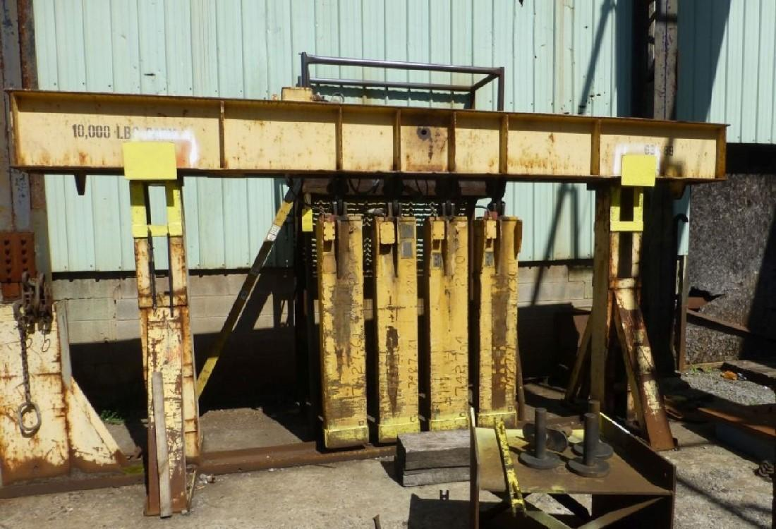 10,000 LBS MAGNET SYSTEM WITH (4) WALKER MAGNETS : STOCK 13389