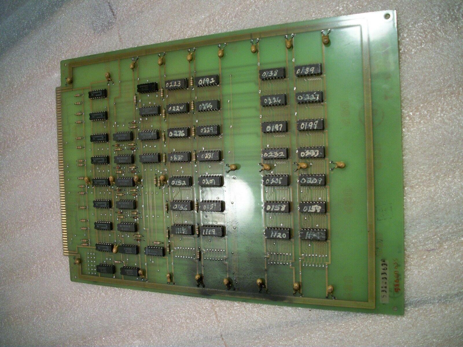 Cincinnati Acramatic Board # 3-531-3363A