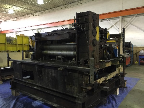 (S) SESCO Coil Cradle - Straightener - Feeder Combination Complete Coil Feed Line 60,000 Lbs. x 60