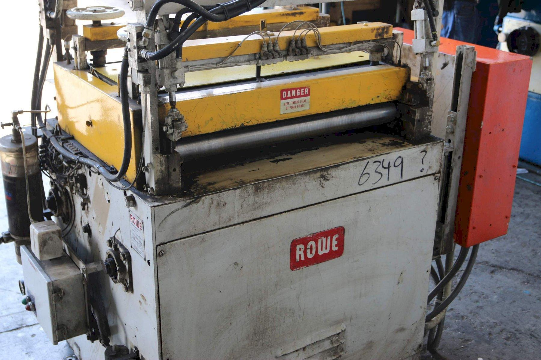 30' X .065 WIDE ROWE 7 ROLL  STRAIGHTENER: STOCK #68385