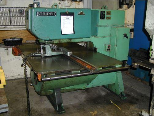 1 PREOWNED STRIPPIT MODEL 3030, SINGLE PUNCH PRESS, S/N: 102752969