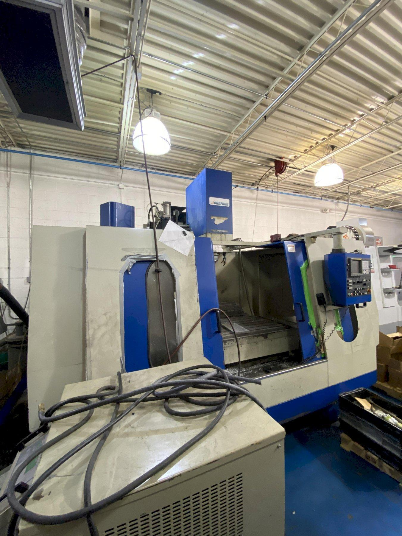 Johnford VMC1300HD CNC Vertical Machining Center