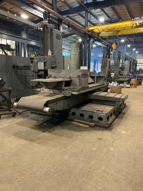 "5"" Lucas 542B120 CNC Table Type Horizontal Boring Mill"