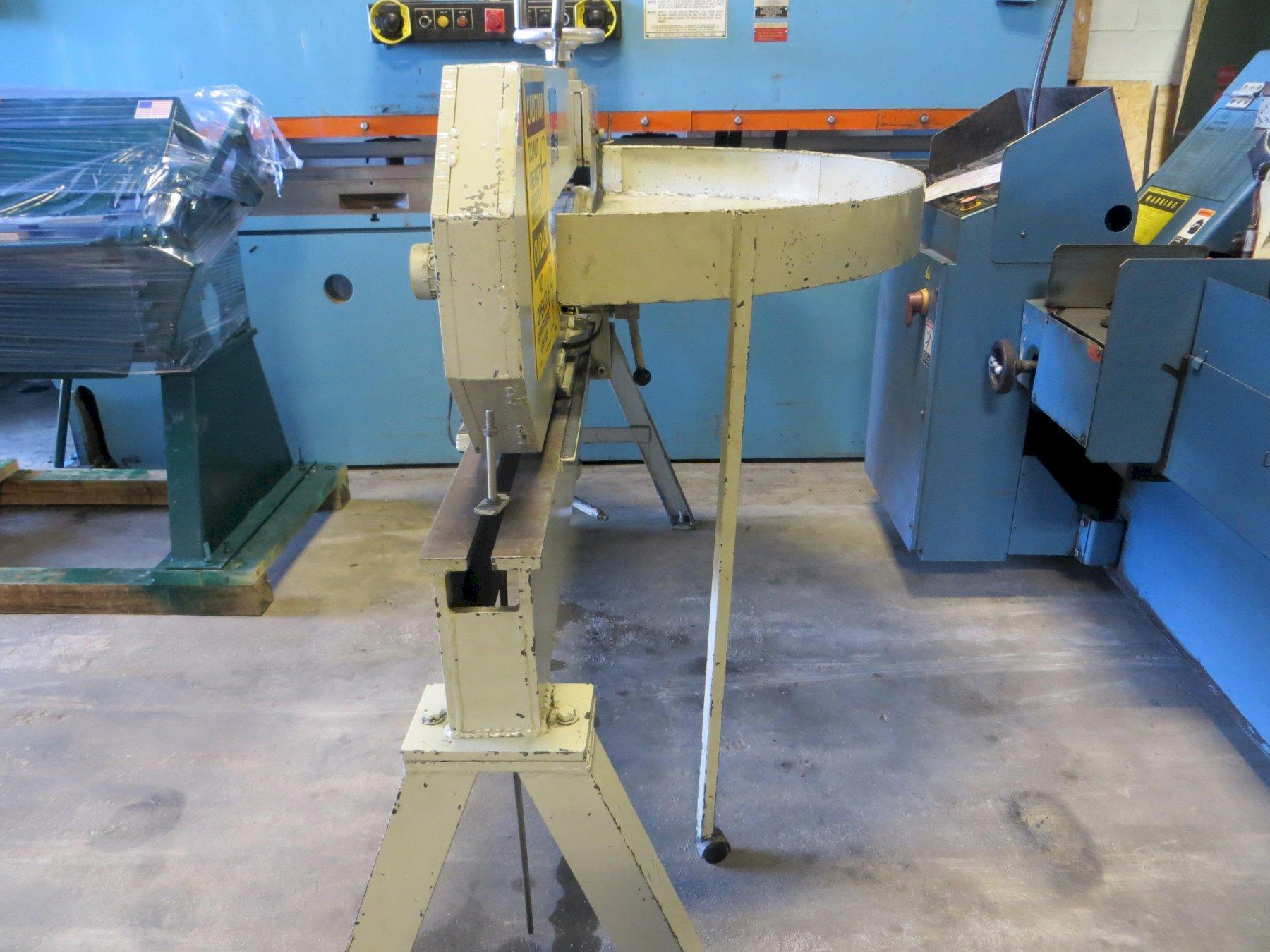 """3/16"""" x 52"""" May Tool Ring & Circle Shear Model MTC-52H"""