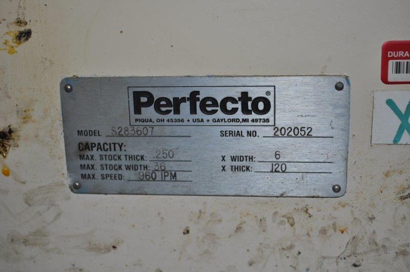 "36"" x ..250"" PERFECTO STRAIGHTENER"