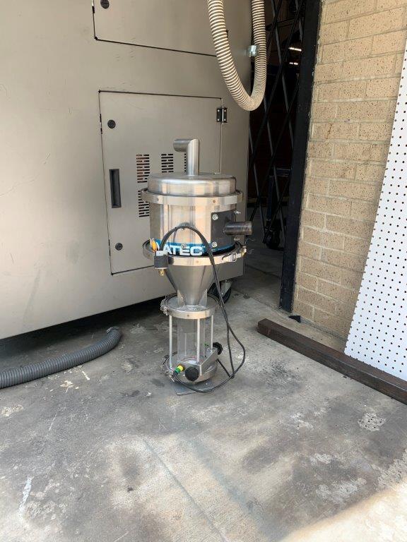 Novatec Used NWB-300-DC+ Material Dryer, Desiccant, Approx 300 lbs/hr, 460V, Yr. 2017