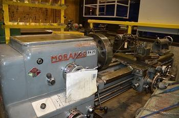 MORANDO #PA-25 LATHE   Our stock number: 112119