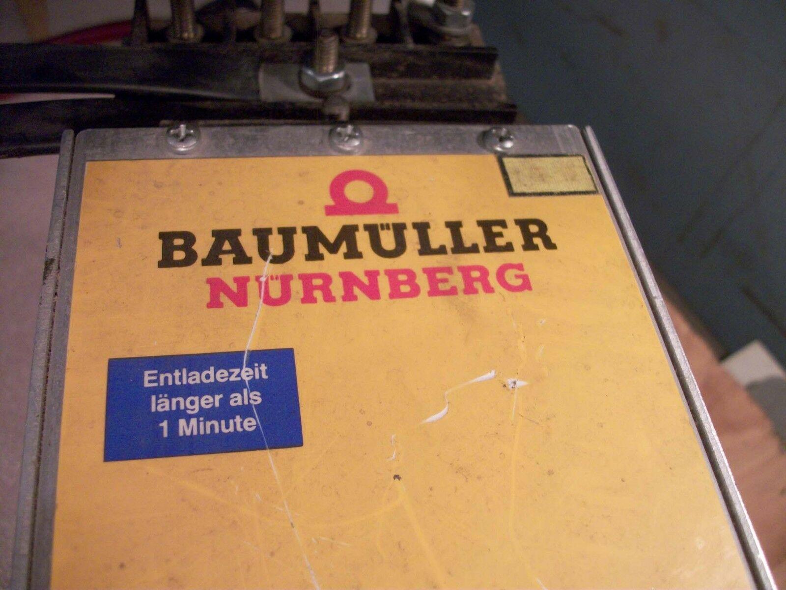 Baumuller Axis Drive # BUK-2-62-4.5-001, Nr90308876E