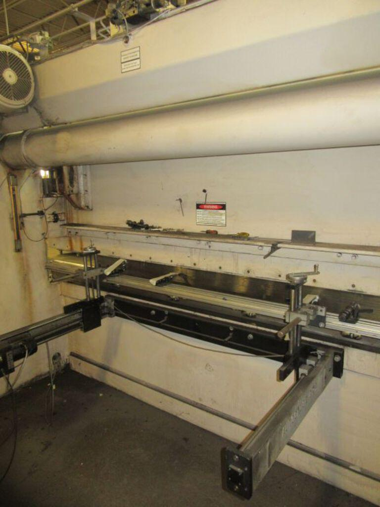 175 Ton x 12 ft Wysong Hydraulic Press Brake Model MTH175-144