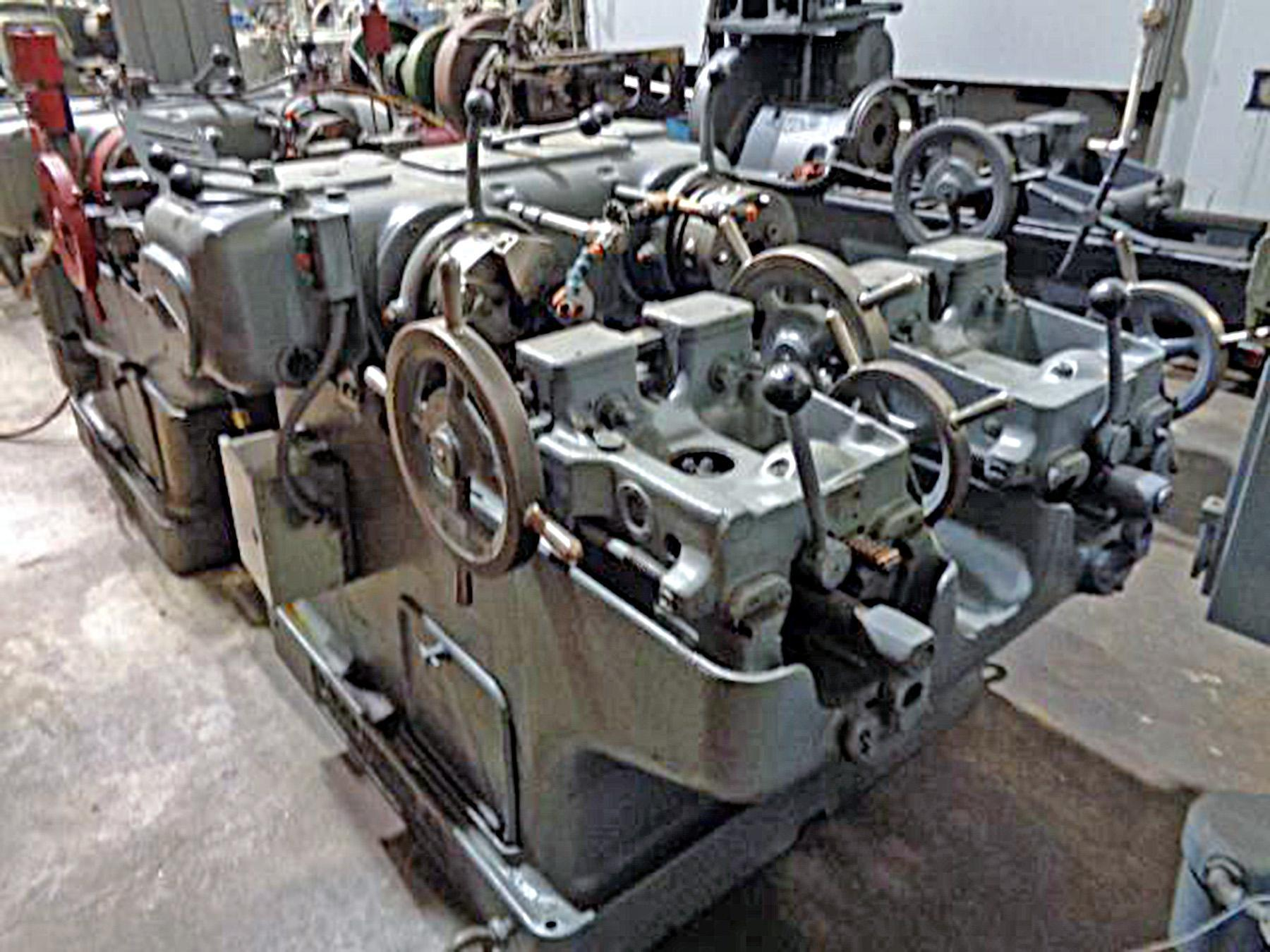 "USED, LANDIS MODEL A 1-1/2"" DOUBLE THREADING MACHINE"