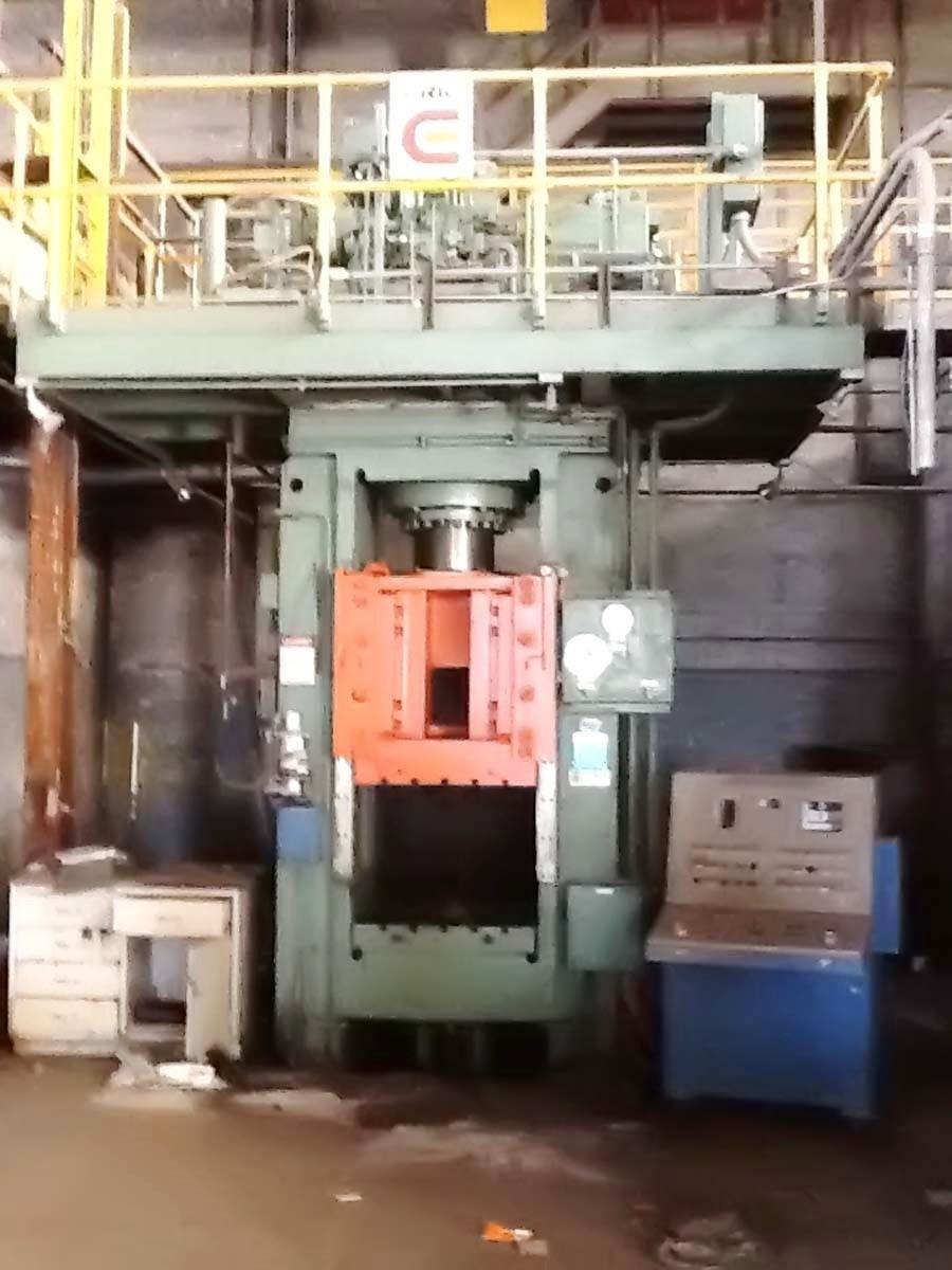 Lake Erie 500 Ton Hydraulic Press