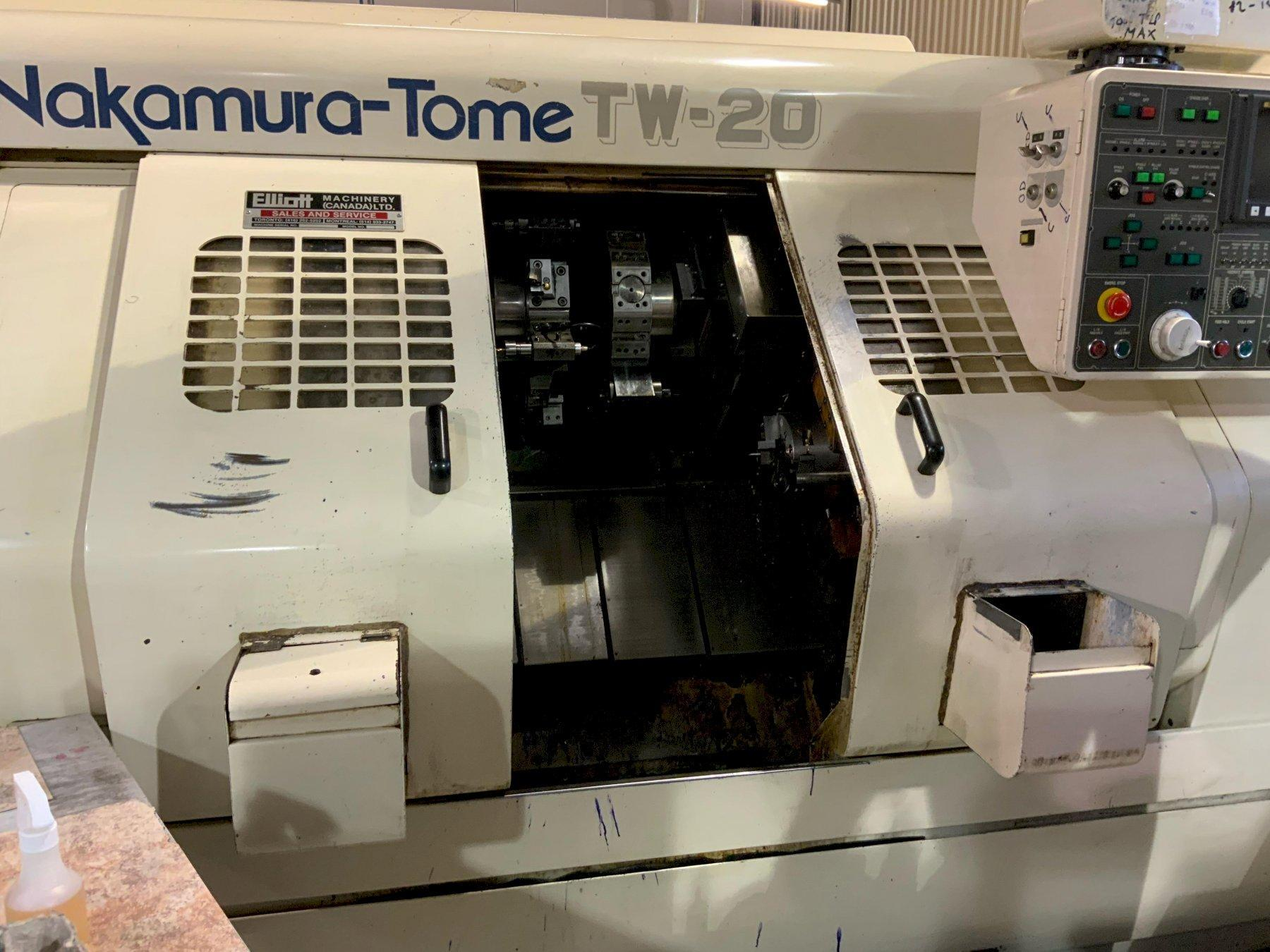 Nakamura-Tome TW-20MM Turning Center, Mfg. 1990