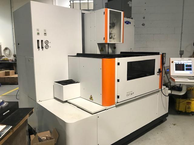 Agie Charmilles CUT30P CNC Wire EDM, Windows-Based Ctrl, 24