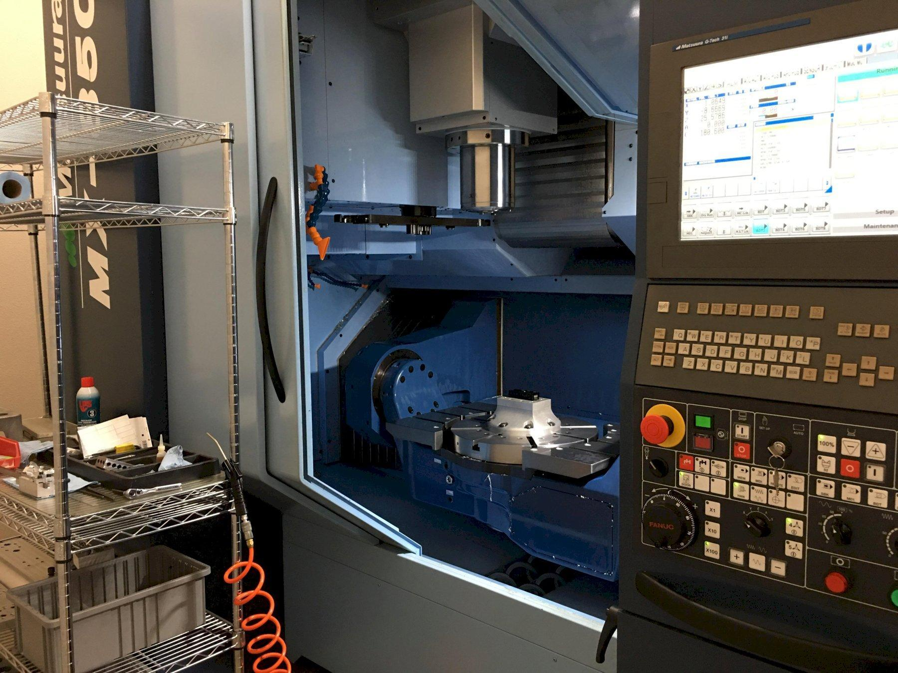 2017 Matsuura MX850 - CNC 5-Axis Vertical Machining Center