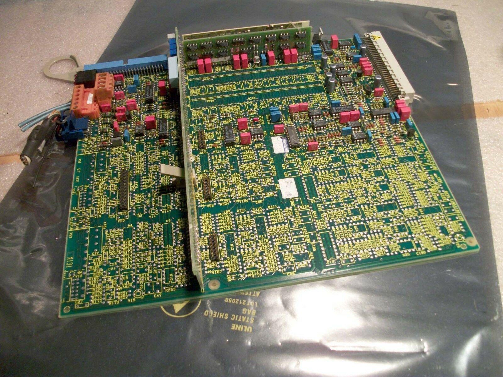 Siemens Axis Drive Card # 6SC6100-0NA01, 462.010.9070.01 AB AC AD