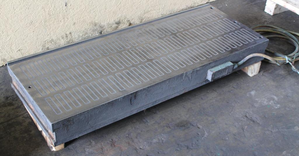 18' X 48' X 4-3/4' ELECTRO MAGNETIC CHUCK:  STOCK #62264