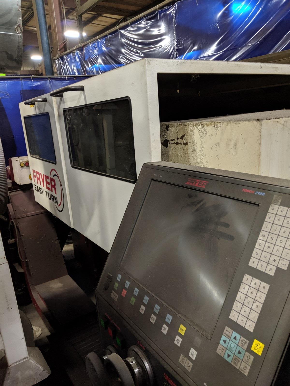 """25"""" X 60"""" FRYER ET-25 CNC LATHE"""