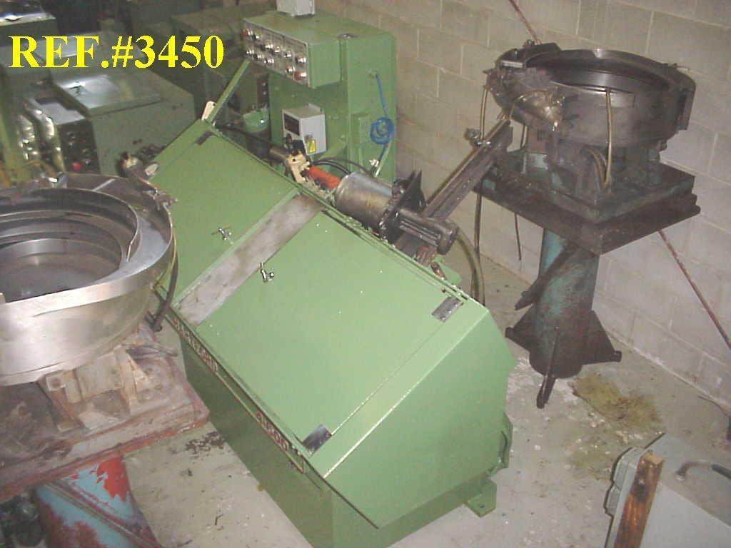 #1015 Hartford 4-600 Automated Flat Die Thread Roller