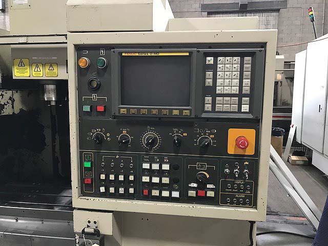 """HARDINGE VMC600, 2-Pallet, Fanuc 0M-D CNC, (2) 12.2"""" x 24"""" Pallets, X=23.62"""",Y=16.14"""", Z=20.08"""", 8000 RPM, 20 ATC, New 2000."""