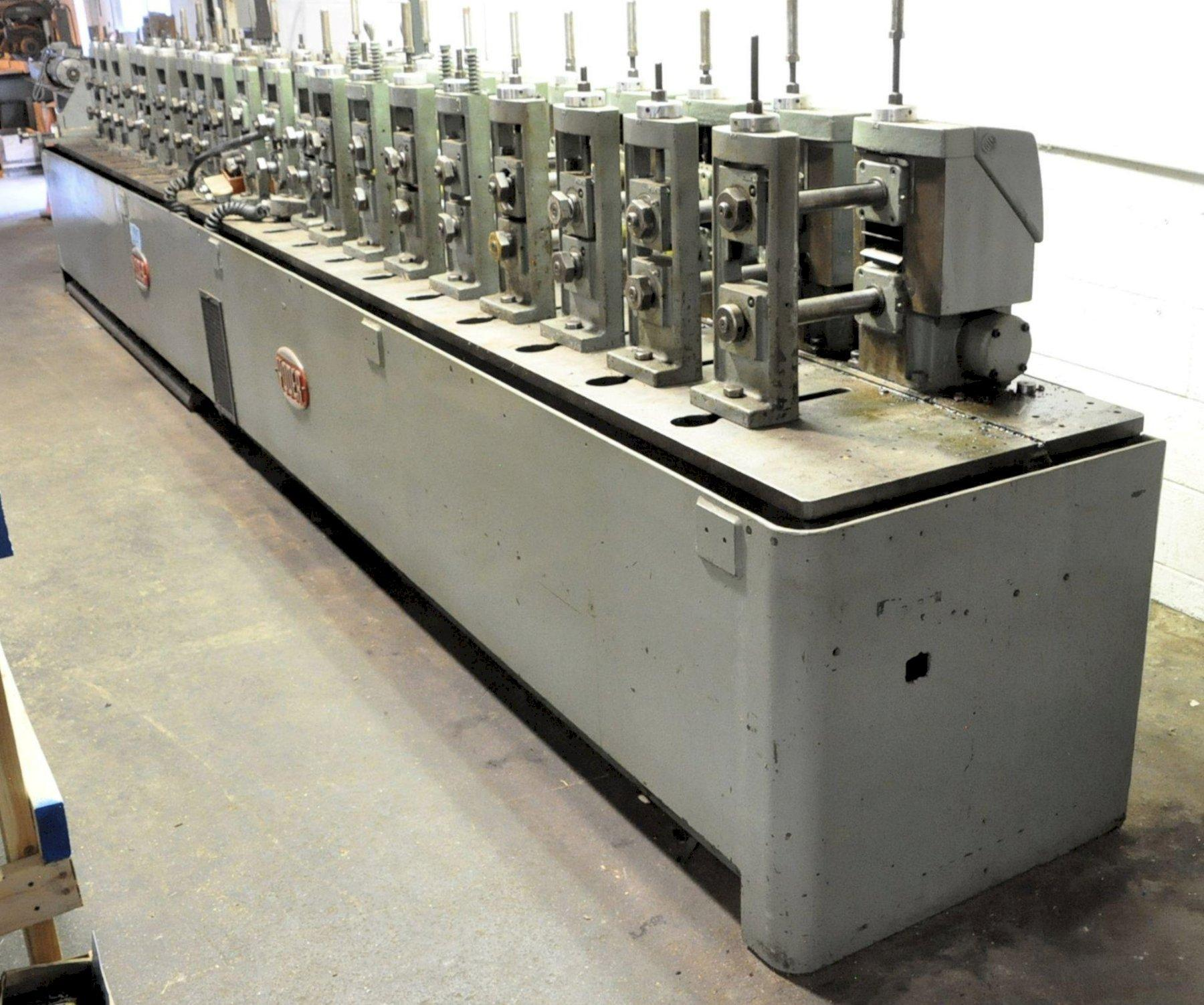 """20 STAND X 1.5"""" X 8"""" YODER MODEL M1-1/2 ROLLFORMER: STOCK 15373"""