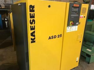 25 Hp Kaeser ASD 25 Rotary Screw air compressor