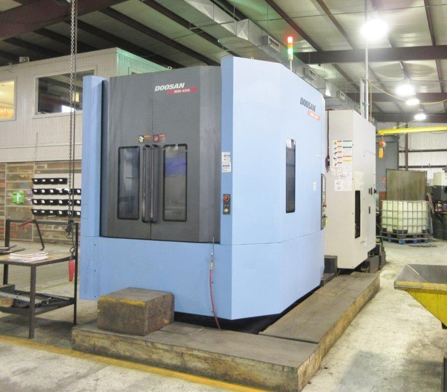 Doosan Model NHM 6300 Horizontal Machining Center, 4-Axis, Mfg. 2014