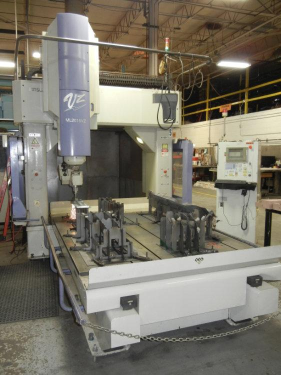 USED MITSUBISHI 5-AXIS CNC LASER, Model VZ1, 3,000 peak / 2,000 constant , Stock No. 10440